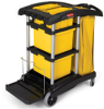 Rubbermaid 9T73 Rubbermaid HYGEN™ Microfiber Cleaning Cart -- RM-9T73