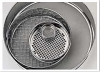 12 Inch Full Height Mid-Point Stainless-Steel Sieve (Coarse Mesh) -- View Larger Image