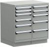 Stationary Compact Cabinet with Partitions -- L3AEG-3405C -- View Larger Image