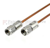 2.92mm Male to 2.92mm Male Cable RG405 Coax in 6 Inch -- FMC2929988-06 -- View Larger Image