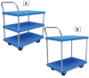 VESTIL Plastic Shelf Utility Cart -- 1051102