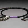CANARE 8CH DB25 Audio Snake Cable 25-PIN TO 3-PIN XLR MALES -- 20DA88202-DB25XP-015 - Image