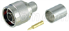 Type N Male Crimp for RG8, 400-Series Cable -- ANM-1406 -Image