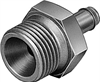 CRCN-1/4-PK-4 Barbed fitting -- 13972 -Image
