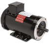 AC MOTOR 2HP 1800RPM 145TC 230/460VAC 3-PH ROLL-STEEL MICROMAX -- Y368