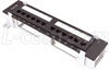 Category 5e Patch Panel, 12-Port EIA568A/B -- DCWM110C5E-12