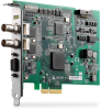 2-CH 3G/HD/SD-SDI Video/Audio Capture Card -- PCIe-2602 - Image