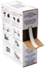 Brady B-498 White Vinyl Cloth Thermal Transfer Continuous Thermal Transfer Printer Label Roll - 0.318 in Width - 300 ft Length - Bulk - BPTLTB-498-318 -- 662820-62655 - Image