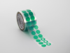 PC21 Green Polyester Tape Donuts -- PCD156X375 -Image