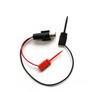 Female BNC Breakout to XK Double Gripper Micro-Hooks -- 1001XK -Image