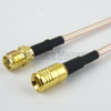 SMA Female to SMB Plug Cable RG-316 Coax in 36 Inch and RoHS -- FMC1316315LF-36 -Image