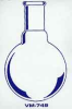 Single Neck Round Bottom Flasks -- VM749-24