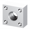 Square Threaded Flanges - In-line NPTF -- ISO 6164 - 250 & 400 Bar Series -Image