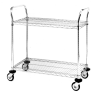 Utility Carts with 2 Wire Shelves -- MW612