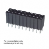 Rectangular Connectors - Headers, Receptacles, Female Sockets -- 929975E-01-28-ND -Image