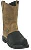 Wellngtn Boots,Comp. Toe,Met Grd,12M,PR -- 30Z091