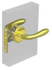 Swing Door Locks -- MA-01-321-02-40