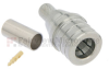 QMA Male Snap-On Connector Crimp/Solder Attachment For RG55, RG142, RG223, RG400 Cable -- FMCN1148 -Image