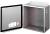 ENCLOSURE;NEMA 12;HINGED COVER;SCREW CLAMP;J BOX;10.00X10.00X6.00;STEEL;GRAY -- 70066809 - Image