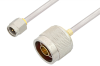 SMA Male to N Male Cable 36 Inch Length Using PE-SR402AL Coax -- PE34265LF-36 -- View Larger Image