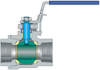 End-entry Ball Valves -- EE-1000 -- View Larger Image