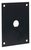 Universal Steel Sub-Panel with One 0.5