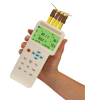 4 Input Thermometer and Data Logger with USB Interface -- HH1384 - Image