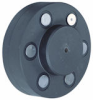 Pin/Buffer Flexible Couplings -- Crown Pin