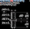 Swage Terminal Pin -- 2115-2-00-01-00-00-07-0