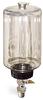 "(Formerly B1682-7), Single Feed Manual Lubricator, 1/2 gal Polycarbonate Reservoir, 1/2"" Male NPT -- B1681-0644B11W -- View Larger Image"