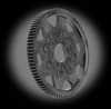 HPI 48 Pitch Carbon Fiber Spur Gear, 87T -- 0-HPI6987