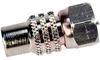 Connector; RF; Adapter; Straight; RCA Jack-F Plug -- 70000510