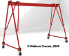 Tri-Adjustable Steel Portable Crane -- S4T21-20S