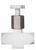 Chemfluor PTFE Needle Valve, 1/4