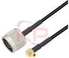 MMCX to N-Male LMR 195 Cable -- KPPA-MMCX-N-36 - Image