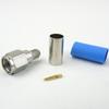 SMA Male Connector Crimp/Solder Attachment For RG55 Cable -- SC7052 -Image