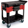 Black Rubbermaid® Trades Cart -- 7170