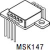 High Power Operational Amplifier -- MSK147