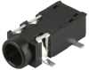 Barrel - Audio Connectors -- CP-SJ2-35862B-SMT-TR-ND