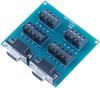 Terminal Block – Dual DB9 Female to 18 Screw Terminals -- TB06