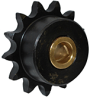 Bronze Bushed Sprocket Idlers for Use with All Steel Tighteners