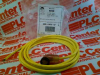 QD CORDSET MINI RT. ANGLE W/NEON LAMP 3-PIN 12FT -- 889NL3AFA12F