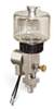 """(Formerly B1763-6X01), Single Feed Electro Lubricator, 5 oz Polycarbonate Reservoir, 1/8"""" Male NPT, 24VDC -- B1763-0051B1S1024DW -- View Larger Image"""