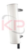 Dual Pol ±45 Degrees Slant 90 Degree Sector Antenna -- KPPA-3GHDP90S-45-PMP