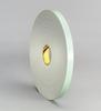 3M(TM) Double Coated Urethane Foam Tape 4008 Off-White, 1 in x 36 yd 1/8 in, 9 per case Bulk -- 021200-06452