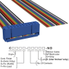 Rectangular Cable Assemblies -- C1AXG-2036M-ND -Image