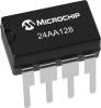 128Kbit Serial EEPROM Memory Chip -- 24AA128 -Image