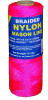 #1 BRAIDED NYLON MASON 500' PINK -- 12-515 -- View Larger Image