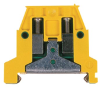 DIN Rail Mounting Ground Terminal Blocks -- OMTBV7-WG Ground Terminal Blocks
