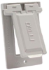 Weatherproof Single Gang Vertical Device Mount Cover GFCI -- 5103-1